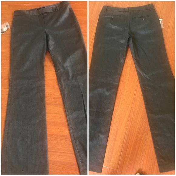 NEW THEORY beautiful grey slacks (w/Nordstrom tag)